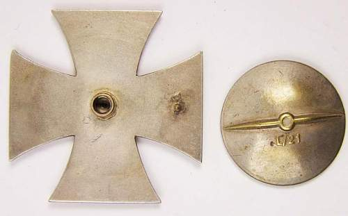 Eisernes Kreuz 1.Klasse Marked L21 - Opinioms Please