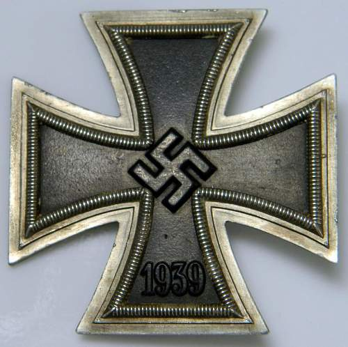 Eisernes Kreuz 1...Thoughts and opinions???