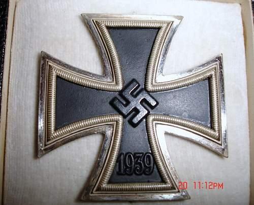 1939 Eisernes Kreuz 1