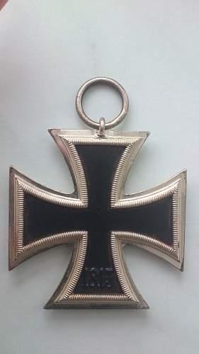 My new Eisernes Kreuz 2.Klasse - Hermann Aurich - '113'.