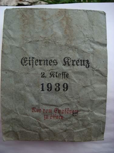 EK2 -envelope. Original ?