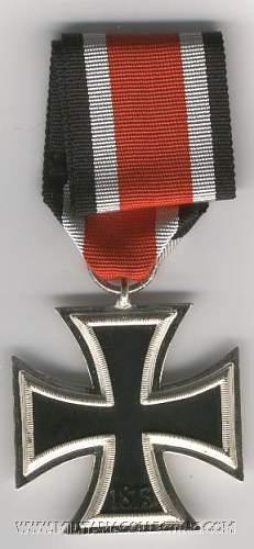 1939 Eisernes Kreuz EKII Unissued Mint