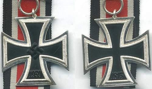 Eisernes Kreuz II Unmarked