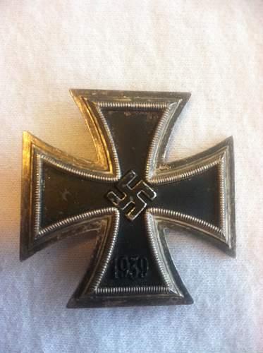 Eisernes Kreuz I Klass