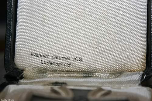 willhelm deumer cased EK1