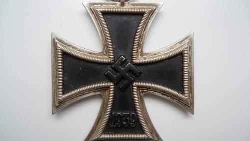 Eisernes Kreuz 2.Klasse for authentication
