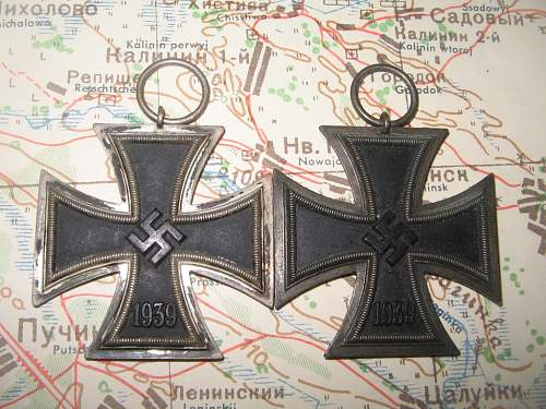 2 x unmarked EKII-s from Bremen