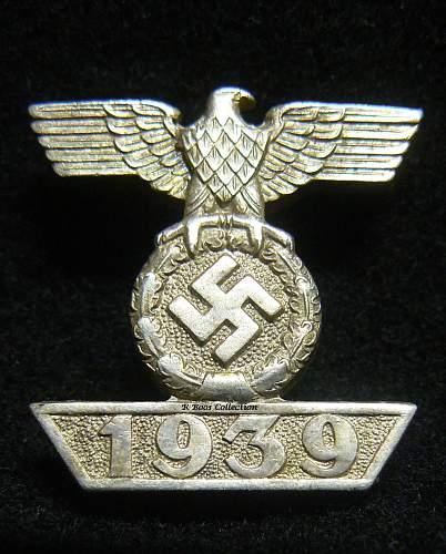 1939 EKII L/11 Spange for consideration