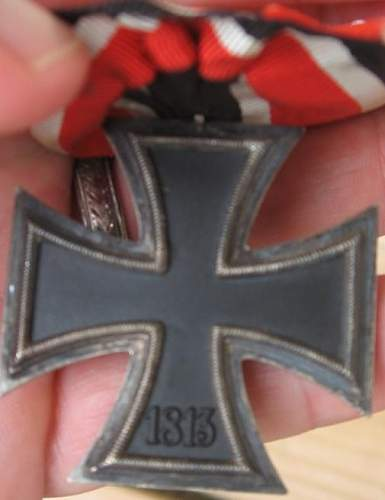 Opinions on court mounted cross