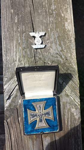 Eisernes Kreuz and spange.