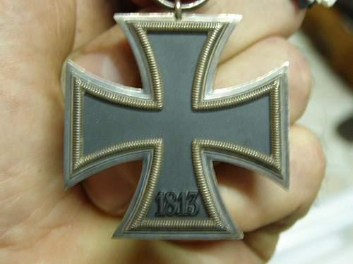 Eisernes Kreuz 2nd Klasse - Moritz Hausch (127)?