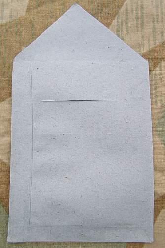 Sieg 1940 militaria fake envelopes