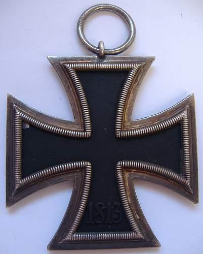 Eisernes Kreuz 2nd Klasse - Eugen Gauss (125)?