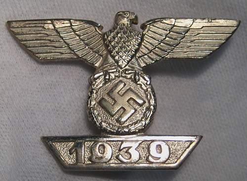 1939 Spange zum Eisernen Kreuzes 1er Klasse 1914 B.H.Meyer?