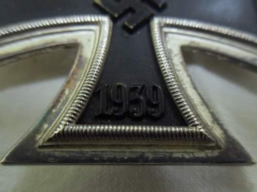 Eisernes Kreuz 1. Klasse - Share