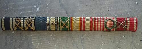 Unusual Godet-Marked Oakleaves/Sword Spange