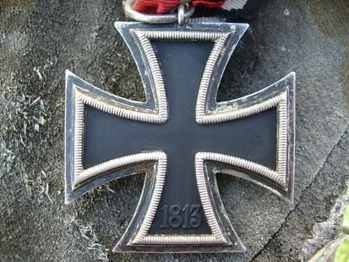 """Eisernes Kreuz 2nd Klasse, Marked """"65"""" K&Q"""