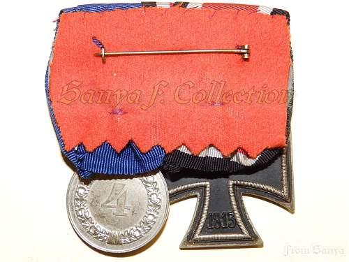 "EK2 ""LUG"" and 4 years long service medals"