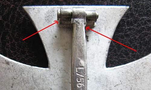 My firsrt Class Iron Cross L/56