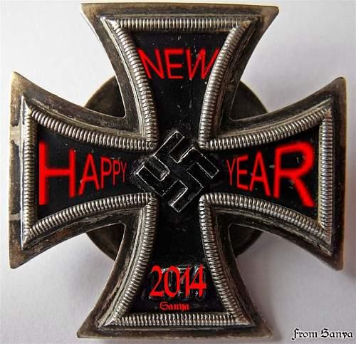 I wish everyone a Happy New Year