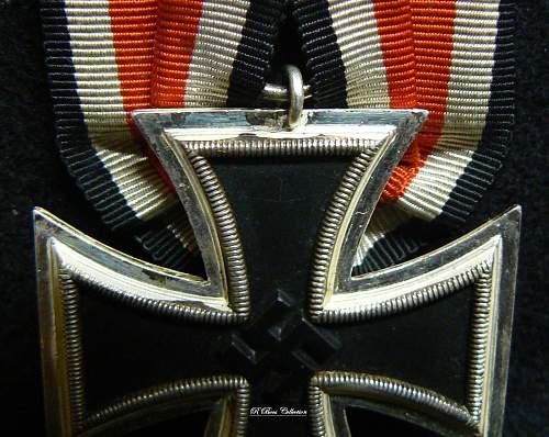 Eisernes Kreuz 2. Klasse, Parade mount