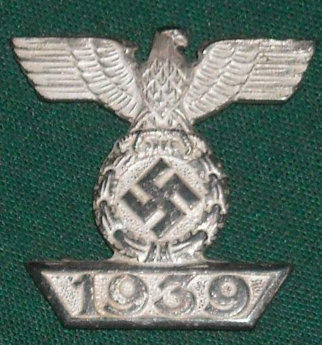 1939 Spange for EKII 1914