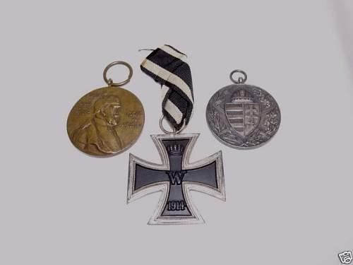 WWI Iron Cross Original or Fake