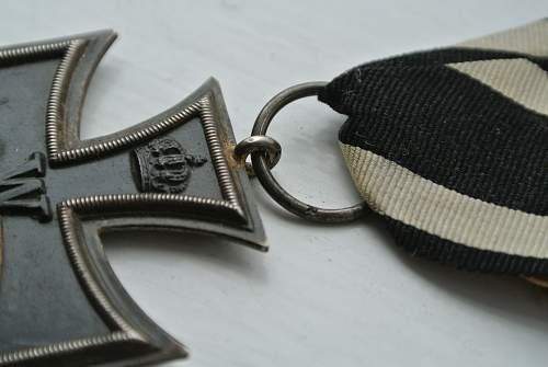 Eisernes Kreuz WW1 & WW2