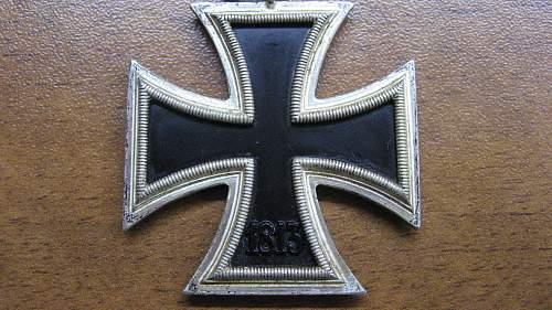 my 1st ek II. ,,113,, Hermann Aurich,Dresden