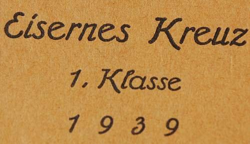 "Who likes frosting??!!  Eisernes Kreuz 1. Klasse BH Mayer ""26"""