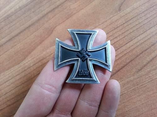 Non magnetic Eisernes Kreuz 1.Klasse?