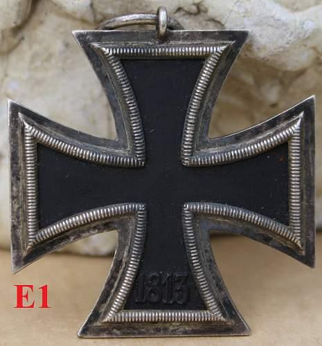 Help needed whit unmarked EK II's