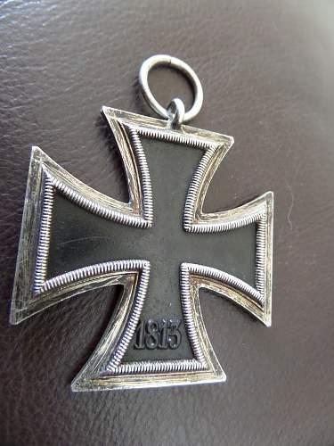 2x Eisernes Kreuz 2.Klasse from Vets bring back lot