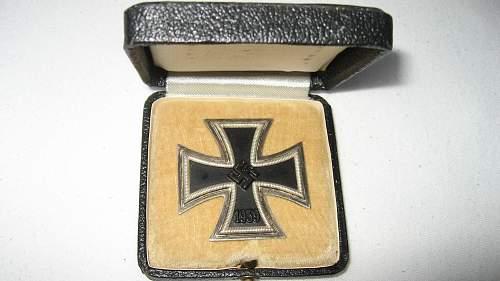 Eisernes Kreuz 1. Klasse, Cased, mm'd '6'