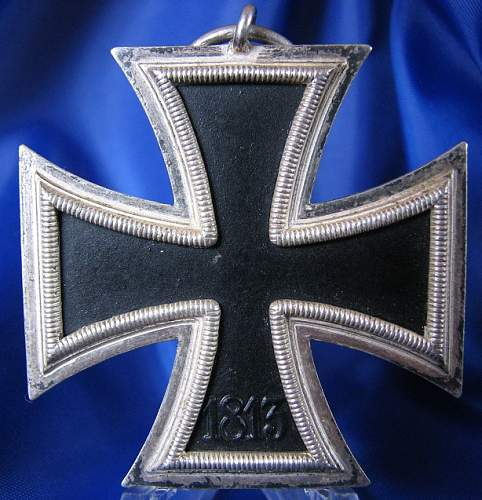 Eisernes Kreuz 2nd Class identification