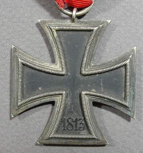 Iron cross 2nd class, original?