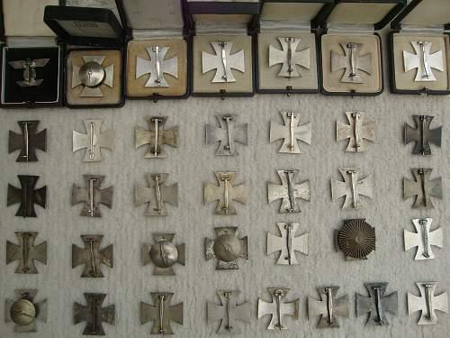 My EK1 collection