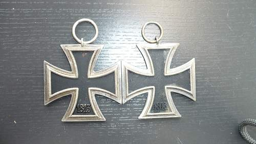 Unmarked Iron cross