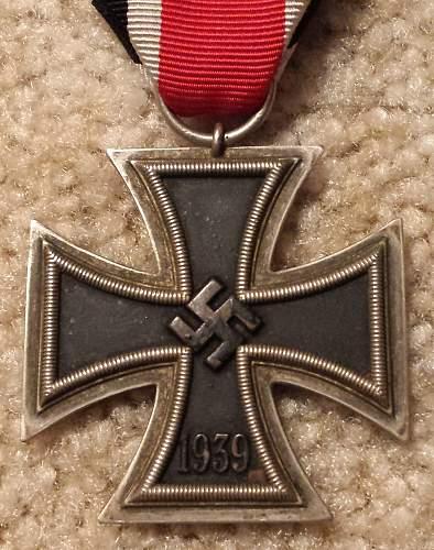 Iron Cross 2nd Class Maker Identification