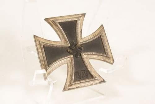 Brass Core Iron Cross First Class, Original? Thinking about buying tomorrow