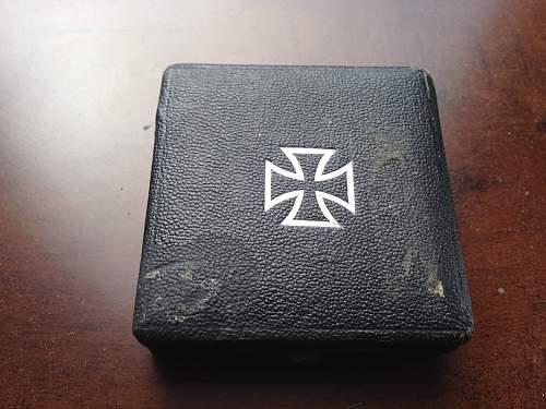Cased Iron Cross