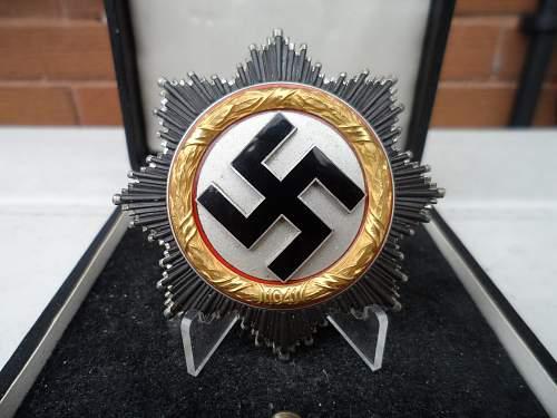 Deutsches Kreuz in Gold : Real?
