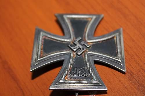 Eisernes Kreuz 1. Klasse marked 21