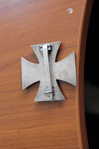 Eisernes Kreuz 1. Klasse unmarked