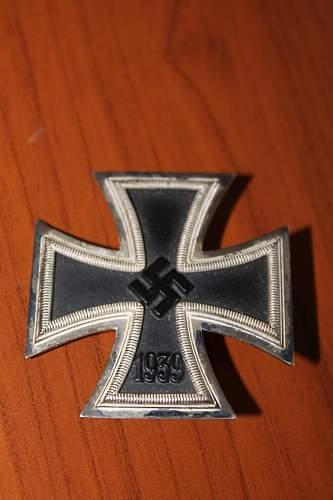 Eisernes Kreuz 1. Klasse marked 26