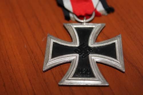 Eisernes Kreuz 2. Klasse With Ribbon.
