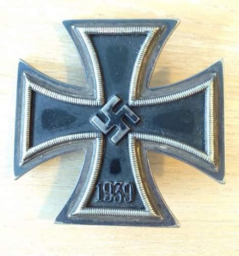 Eisernes Kreuz 1. Klasse?