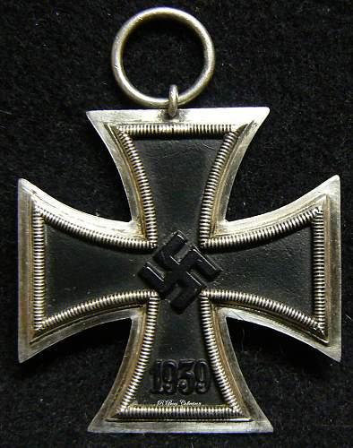 "Eisernes Kreuz 2. Klasse, Unmarked ""16"" Alois Rettenmaier"