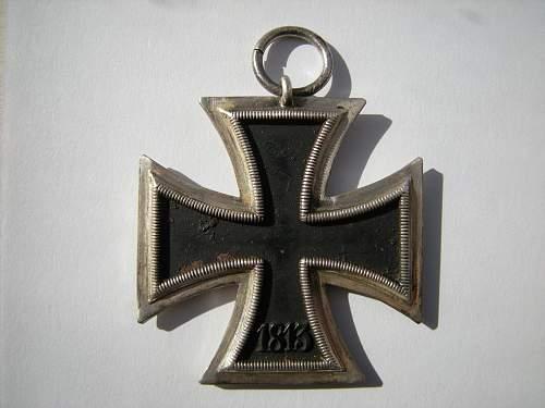 Eisernes Kreuz 2. Klasse, MM 106