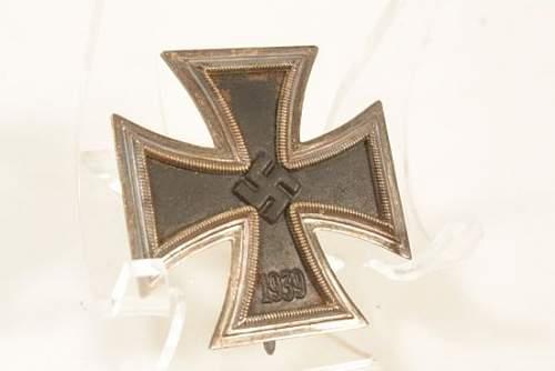 Original Eisernes Kreuz 1. Klasse, Maker?